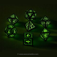 Mark would want these....  Glow in the Dark Elven Dice.