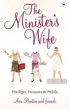 I really appreciated this article about dealing with the pressures of being a pastor's wife.  The article comes from one of the chapter's of this book.