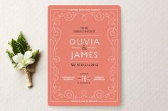 Minted - Bookbinder Wedding Invitations