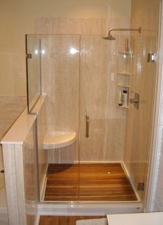pictures of bathroom showers | Bathtub to Shower Conversions with ReBath Houston
