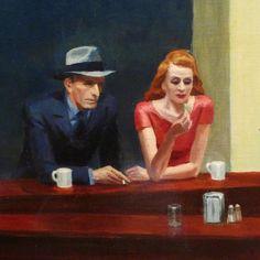 Edward Hopper,Nighthawks