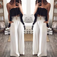 Mischa also comes in black 😍🔥 shop the look instore & online Cute Fashion, Look Fashion, Fashion Outfits, Womens Fashion, Classy Outfits, Cool Outfits, Casual Outfits, Semi Formal Outfits, Pantalon Large