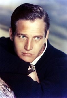 Classic Hollywood Stars. Vintage Style. Paul Newman, 1950s