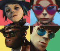 BRUH I LOVE THIS ALBUM COVER #gorillaz