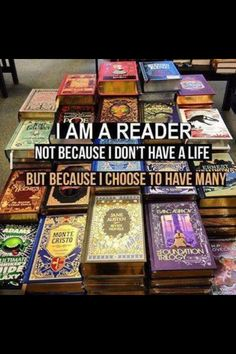Between me being a gamer and a reader, I should have plenty of lives! Lol.