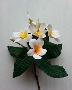 #paper #flowers #decoration #crepepaper #branch #handmade