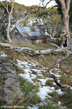 Wallace HutBACK   Falls Creek, Victoria, Australia Melbourne Victoria, Victoria Australia, Country Life, Cross Country, Country Living, Australia Travel, Visit Australia, Falls Creek, Australian Bush