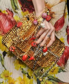 Dolce & Gabbana    Spring 2012 Pasta and Veggie Jewelry and Bags