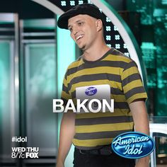 Brad's rapper name used to be BAKON!     #idol #idolauditions #idolcharlotte