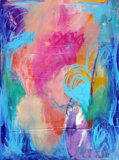 Abstract Painting Abstract Art Blue Painting Abstract Wall