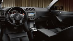 2013 Nissan Altima Coupe - interior.. I got to have leather and heating seats again, it is a must for me :)