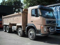 VOLVO FM12-380 8x4 Tipper Diesel - http://tractorsforsales.com/volvo-fm12-380-8x4-tipper-diesel/