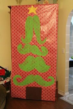 Mustaches & Mistletoe Ugly Sweater Party
