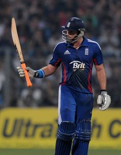Michael Lumb (Eng) made his 1st T20 intl fifty, vs India, 2nd T20, Mumbai, December 22, 2012