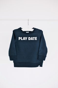 PLAY DATE Sweatshirt by little CITIZENS.