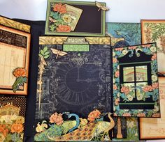 Graphic 45 Artisan style photo album by Anne Rostad