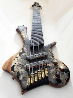 Prometeus Guitars Ahab 6-string multi-scale bass