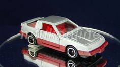 TOMICA 048D MITSUBISHI STARION 2000 TURBO | 1/62 |,JAPAN | 48D-01 | FIRST