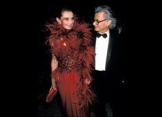 Audrey Hepburn and Richard Avedon in 1989