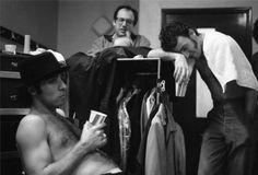 Bruce Springsteen backstage