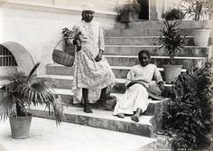 Valentine and Sons - Girls, Jamaica, 1891