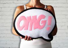 Comic Bubble Pillows