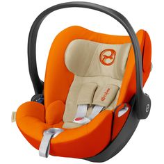 BuyCybex Cloud Q Group 0+ Baby Car Seat, Autumn Gold Online at johnlewis.com