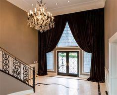 Open Traditional Foyer by Evelyn Benatar on HomePortfolio