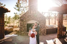 Check out the photos from Diane +  Lincoln. Dress by Amanda's Bridal and Tux