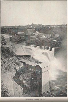 Lower Fall, Rochester New York, ca 1905