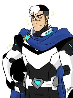 Somebody said something about if Shiro married Allura, he'd be Altean royalty…