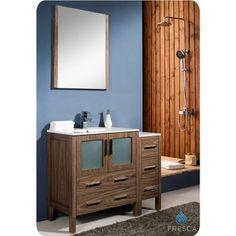 #Bathroomvanity #Sidecabinet #Vesselsink