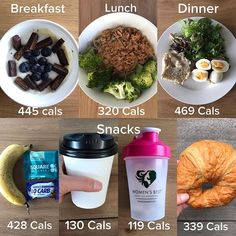 🍌FOOD DIARY: TOTAL CALORIES 2380🍌 Macros breakdown: 187P, 235C, 72F -Breakie: 170g chobani Greek yoghurt + 1/2scp vanilla whey+ chia seeds blueberries and @squareorganics -Lunch: Tuna red curry soba noodles with steamed broccoli -Dinner: 125g Lemon herb chicken + hard boiled egg+ Dijon mustard+mixed salad on wholemeal roll -Snacks: 🍌+ salted caramel/square bar + chocolate whey + 2 medium soy lattes (260) +crossaint + peppermint tea