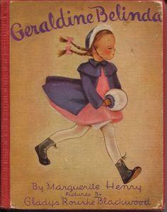 Vintage: GERALDINE BELINDA BY MARGUERITE HENRY