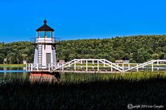 Don Gargano Photography - Doubling Point Light on the Kennebec River, Arrowsic, Maine