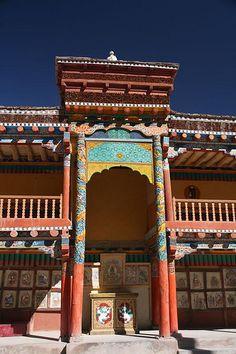 Hemis Monastery, Leh, Ladakh, INDIA.