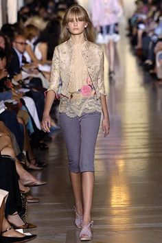 Jill Stuart Spring 2006 Ready-to-Wear Fashion Show - Anna Kuznetsova