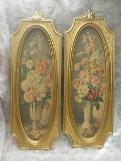 Electronics, Cars, Fashion, Collectibles, Coupons and Gold Picture Frames, Vintage Decor, French Vintage, Shabby Chic, Artwork, Pictures, Baguette, Ebay, Furniture