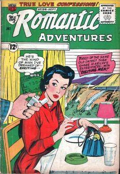 My Romantic Adventures comic books Old Comics, Vintage Comics, Comic Book Covers, Comic Books, Love Confessions, Superman And Lois Lane, Romance Comics, True Romance, Vintage Romance