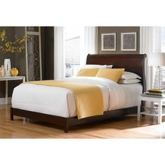 Bridgeport Bed Espresso (California King) - Fashion Bed Group, Black