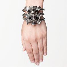 Stacked Vertebrae Bracelet by Skingraft