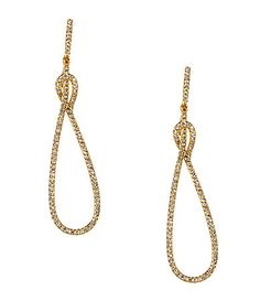 Nadri Lupita Pav Drop Earrings #Dillards