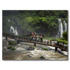 Postcard Iguaçu National Park Sightseeing  Brazil Carte Postale