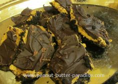 Peanut Butter Bars and Bark Peanut Butter Bars, Peanut Butter Recipes, Beef, Desserts, Food, Meat, Tailgate Desserts, Deserts, Eten