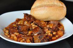 Redneck Beans mit Beef Brisket aus dem Dutch Oven-redneck beans-RedneckBeans06