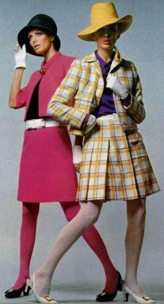 Ellie & Michelle sporting Christian Dior 1967