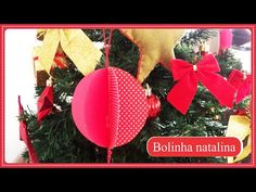 DIY NATAL - BOLA NATALINA - YouTube
