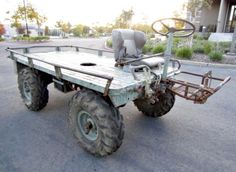 A 1968 U.S. Marine Corp. Mule on GovLiquidation. This Mechanical Mule is a classic!