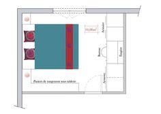 Petite chambre mobilier 2 en 1