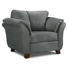 ein bussan sitzsack f r drinnen drau en in grau auf einem balkon darauf ein kissen und eine. Black Bedroom Furniture Sets. Home Design Ideas